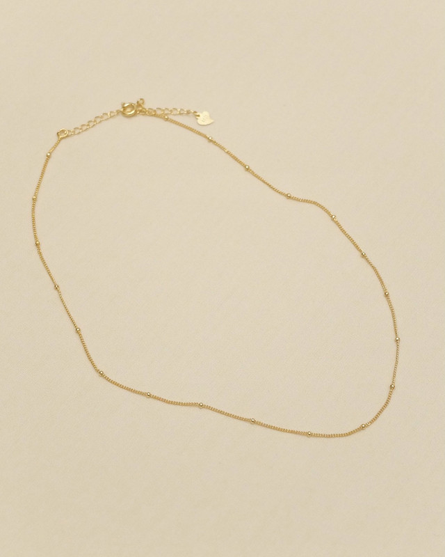 -station chain necklace-