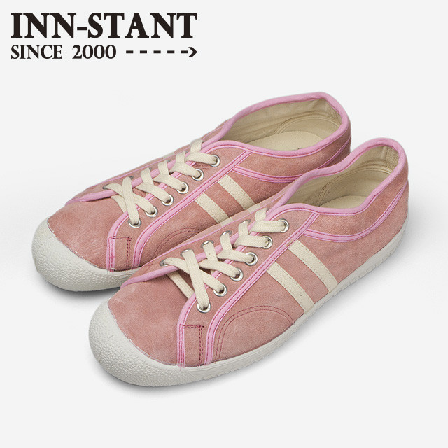 #303 SUEDE SHOES rose/natural (white sole) INN-STANT インスタント 【消費税込・送料無料】
