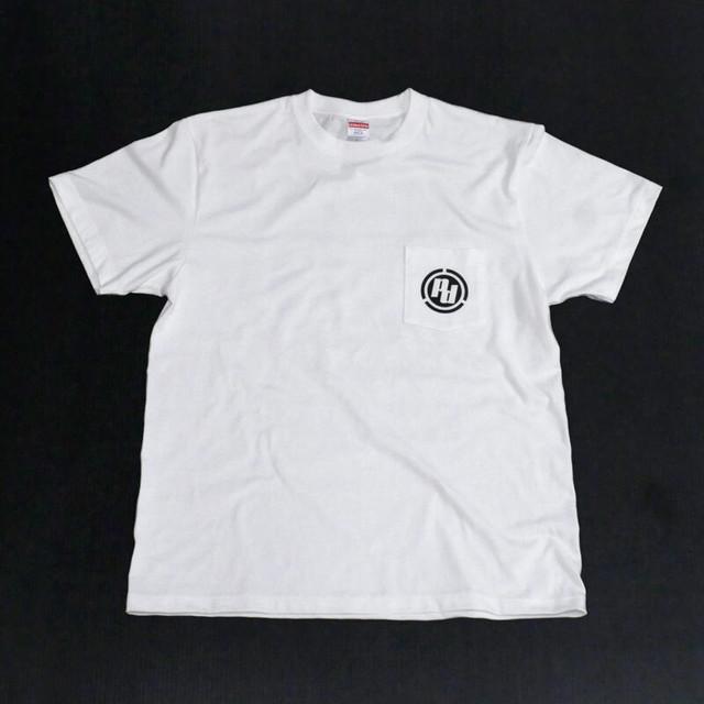 ポケットTシャツ[WH x BL]