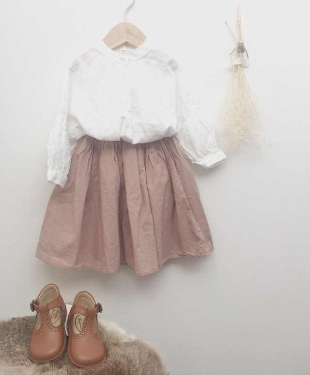 shirt×skirt(pink beige)