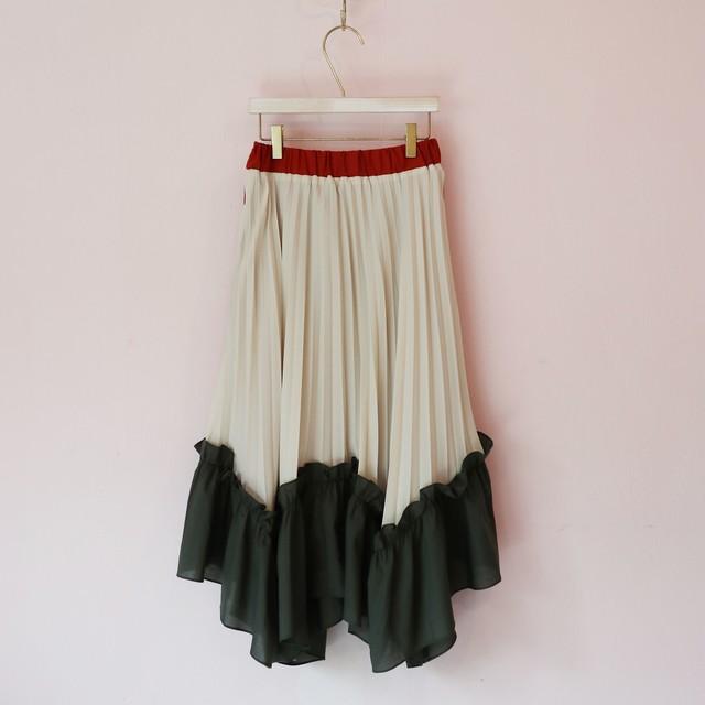 【即納】cooper pleated skirt