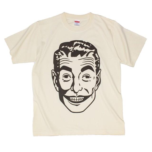 PSYCHO【送料無料】(メンズ ナチュラル 6.2oz. ヘビーウェイト 綿100% Tシャツ)