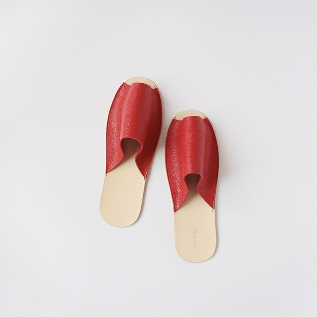 スリッパ Slippers (red)