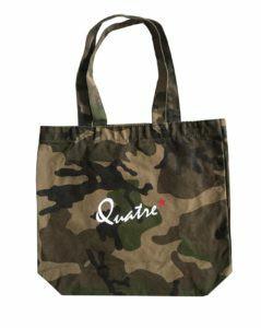 【QUATRE PRINQ】カモフラージュトートバッグ