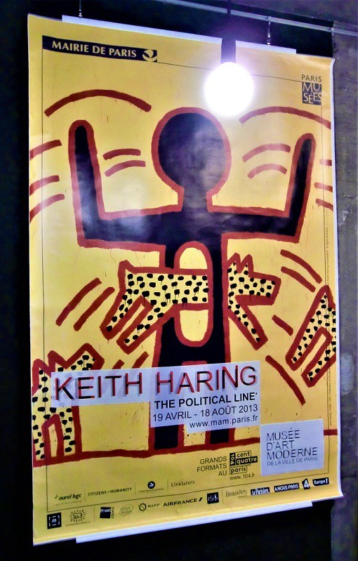 Keith Haring キース・ヘリング The Political Line