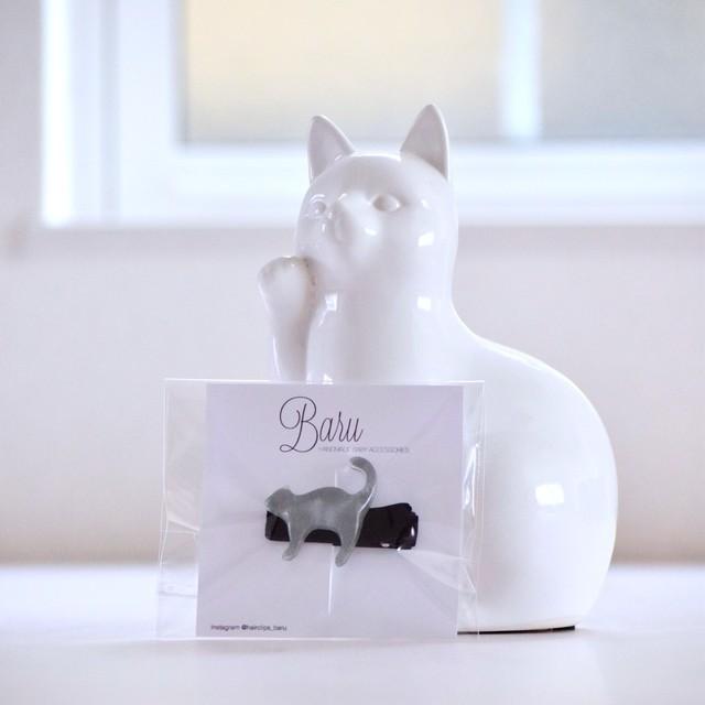 猫のベビーヘアクリップ