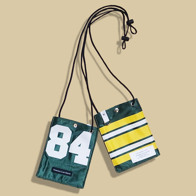 """Remake NFL Game shirts Mobile Pouch -""""84""""/ Green"""