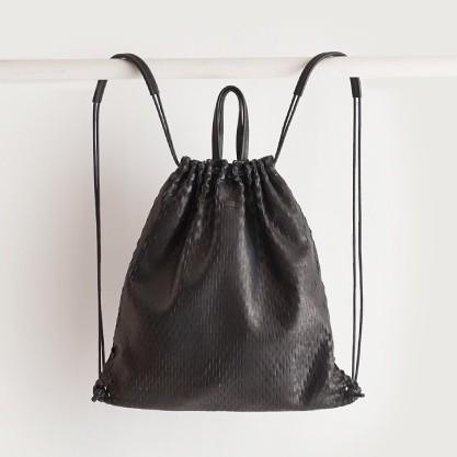 i ro se net knap / tote bag black