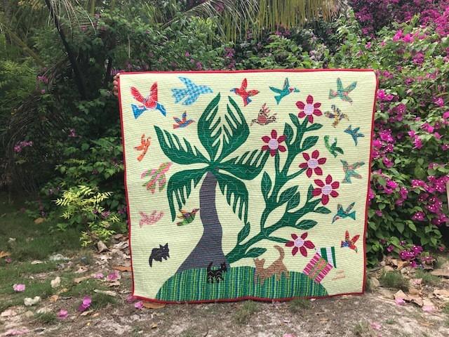 カオハガン島の豊かな自然
