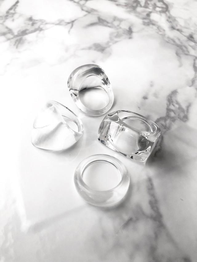Clarity ring 4set -B- (クラリティ リングセット B)