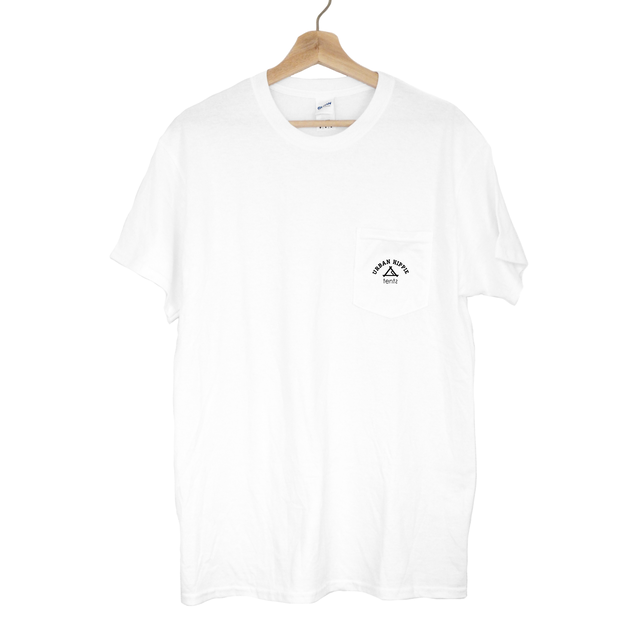 tents urban hippie Pocket T-shirt