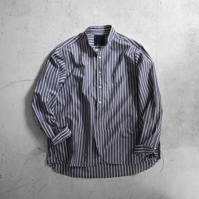 「meanswhile」 Crisp Stripe Shirt