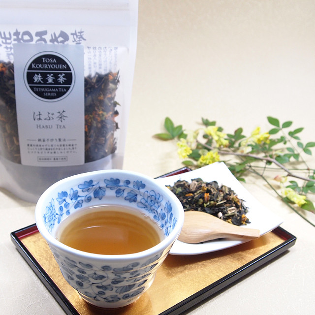 鉄釜茶 はぶ茶【茶葉・70グラム】