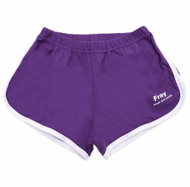 interlock running pants(purple)