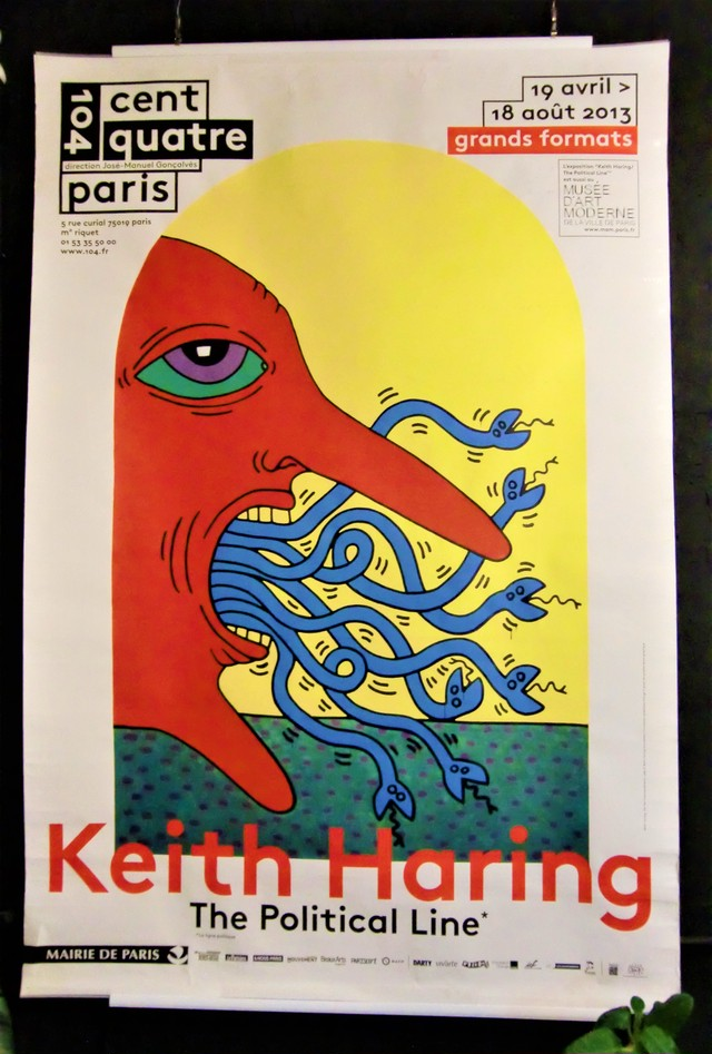 Keith Haring キース・ヘリング 2013 The Political Line