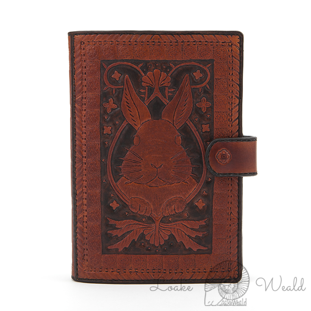 Bible size binder  Rabbit