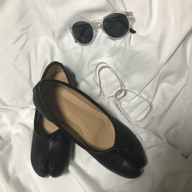 """""""Tabi (足袋)"""" Flat Shoes"""