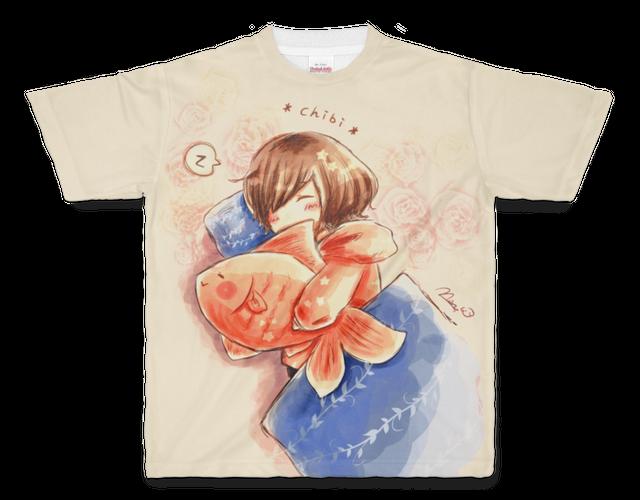 【TシャツM】ちびちゃんのお昼寝タイム