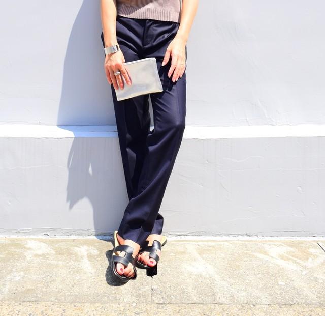 Ecoleather Hmotif Sandals (ブラック)