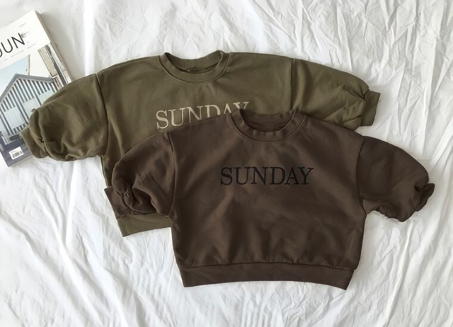 kids SUNDAYトレーナー