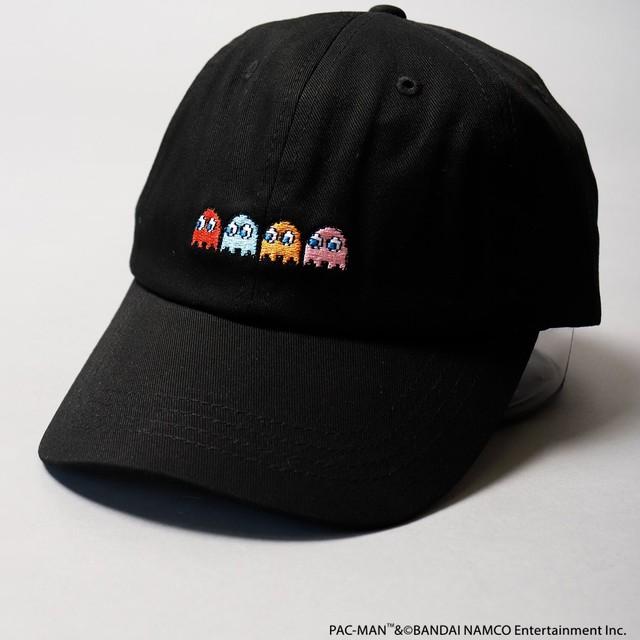 パックマン ゴースト刺繍CAP NO0530311