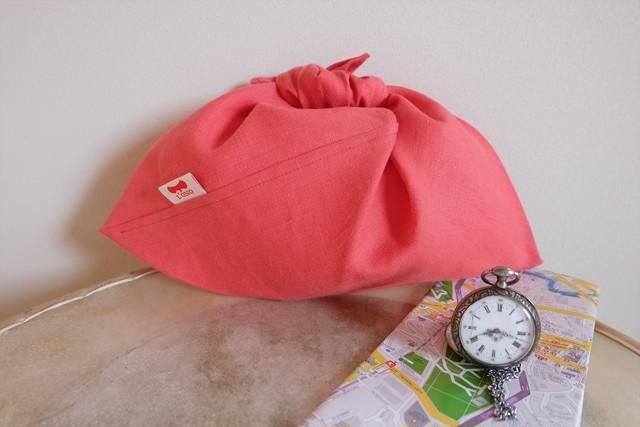 【KIKI】PINK_sizeS~定番シリーズ~フランス・ベルギー産リネン・ピンク