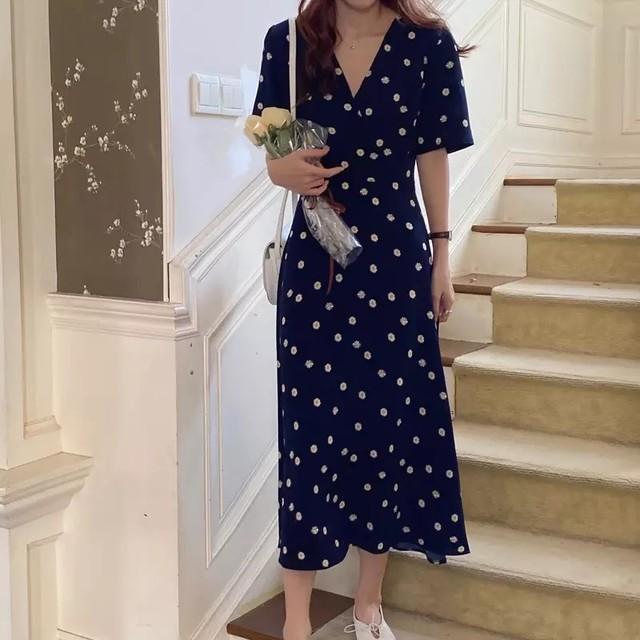 《即納》マーガレットワンピース    《韓国ファッション オルチャン》