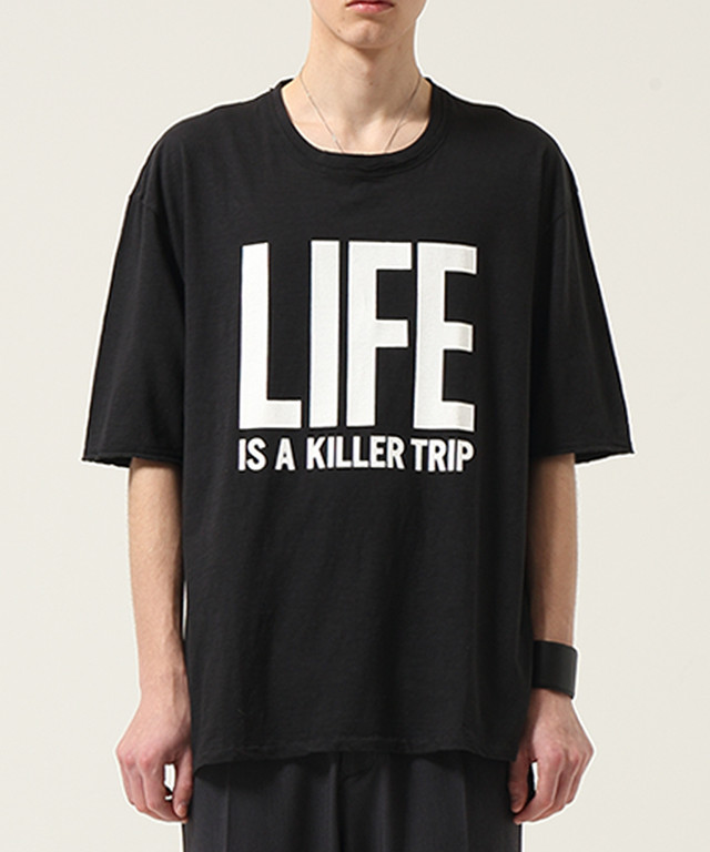 """WIZZARD """"LIFE IS A KILLER TRIP T-SHIRTS""""細美武士さん着用モデル"""