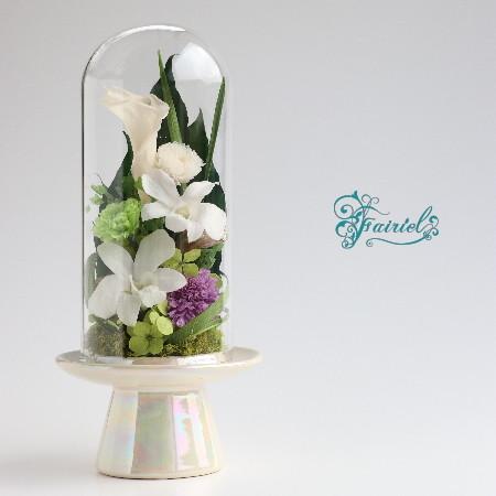 【NEW Ver】大切な方へ。心のおくりもの【偲ぶ花(しのぶはな)】〈仏花〉Lサイズ
