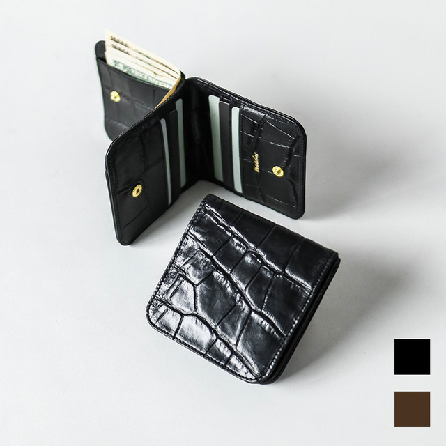 Leather Sqare Wallet 本革 スクエア 財布
