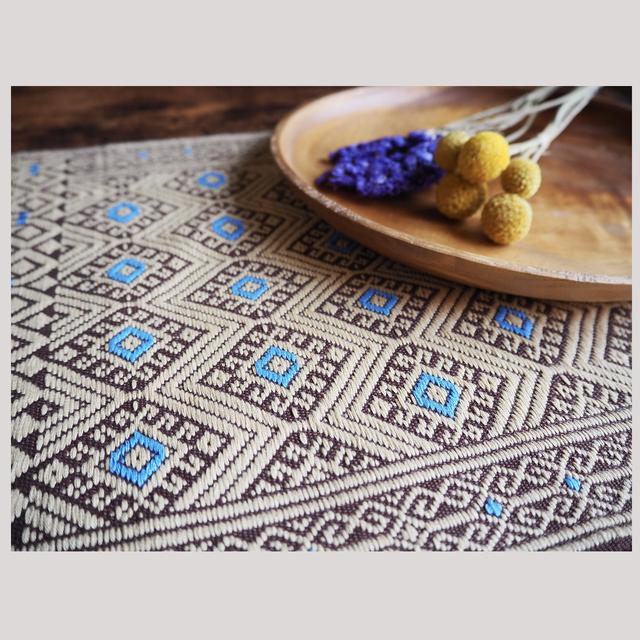 手織りのランチョンマット ※全6種