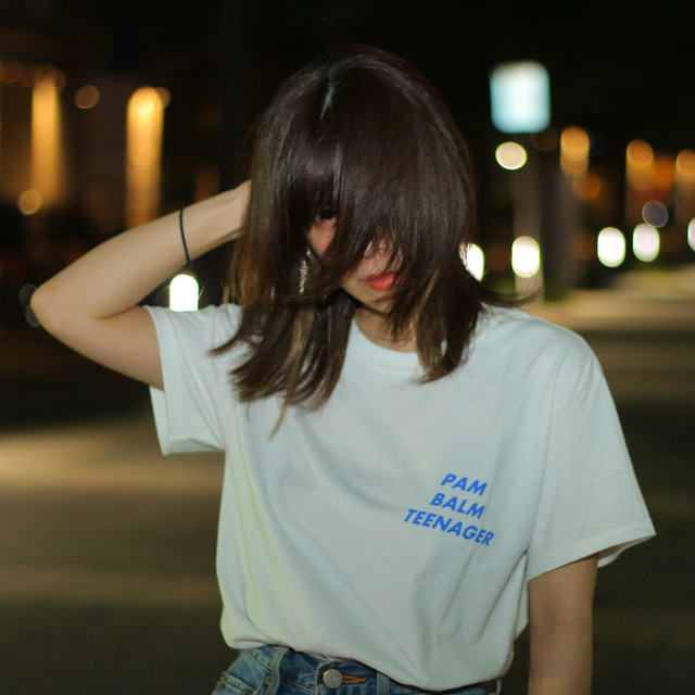 Pam Balm Teenager ロゴTシャツ