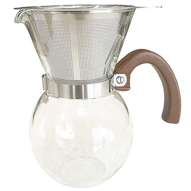 【3cup】63 ロクサン コーヒーメーカー 400ml / ステンレスメッシュフィルター ドリッパー ドリップポッド コーヒー ハンドドリップ おしゃれ