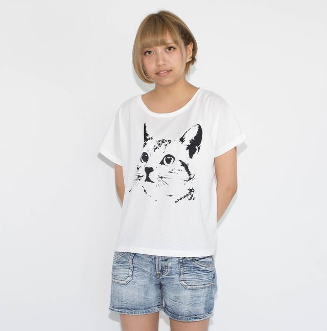 ネコ - Tシャツ レディース