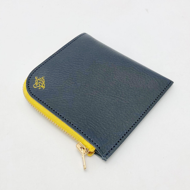 Sean&Ben L Zip Wallet - Navy