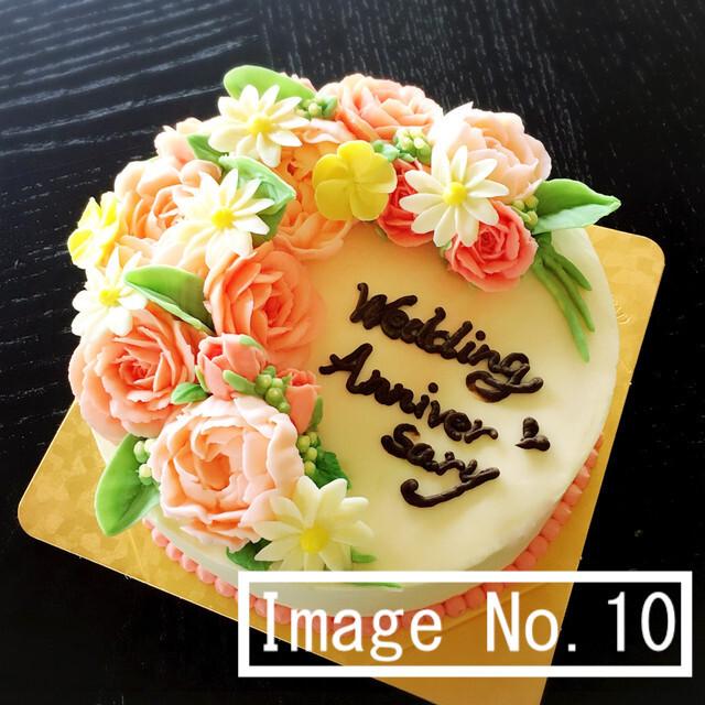 5号フラワーケーキ イメージ10