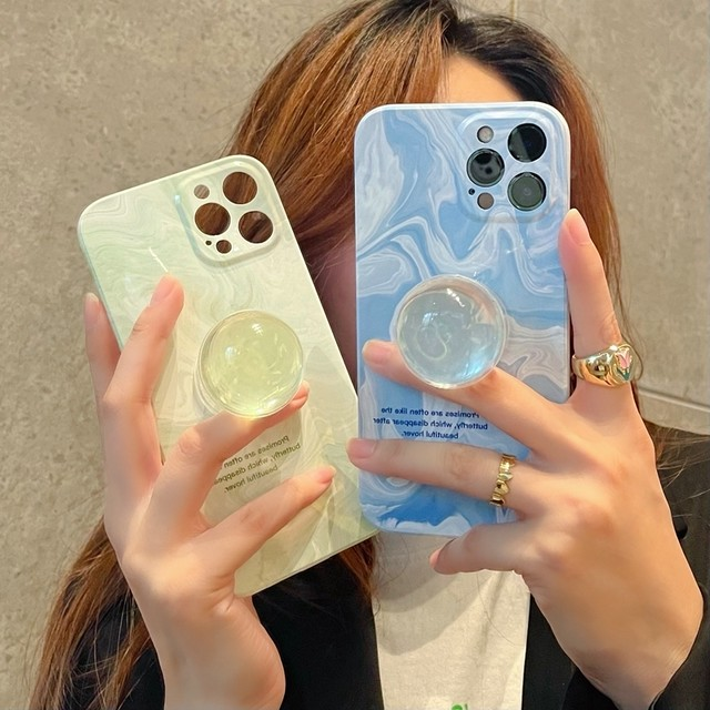 marble crystal holder iPhone case <p877>