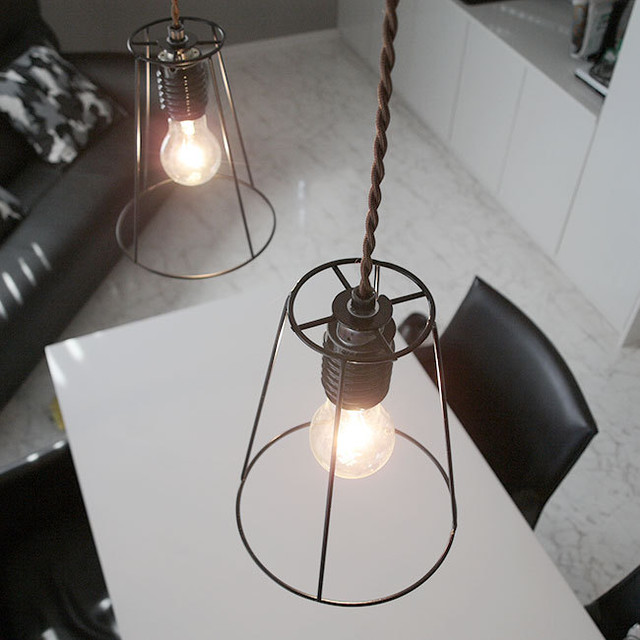 ペンダントライト ランプ Demir(タイプA) アイアン LED対応
