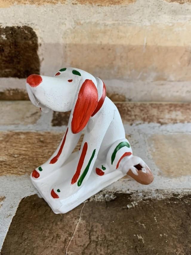 【幸せの笛人形】シウレルくんの犬 B★あなたにいい風が吹きますように