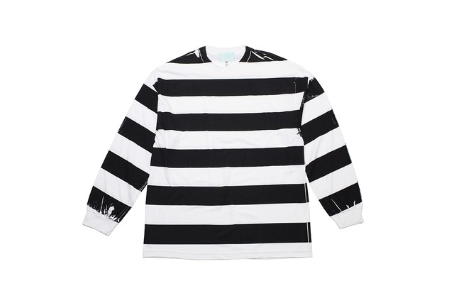 "EZ DO by EACHTIME. ""PRINT BORDER L/S"" WH/BK"