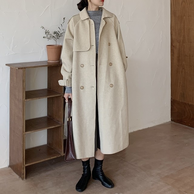 Double breasted Coat T604