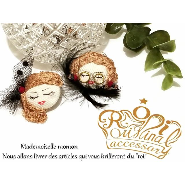 roi Mademoiselle momon(マドモアゼル モモ)ピアス