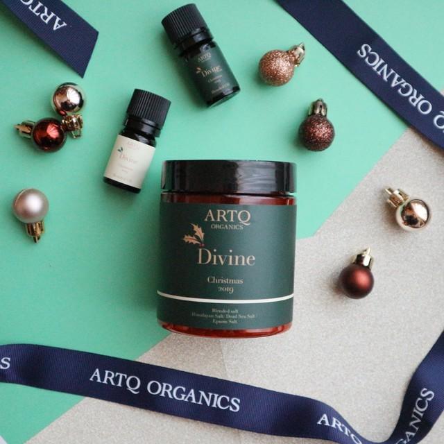 【数量限定品】ARTQ 冬の夜にゆったり香りを楽しむバスソルトセット