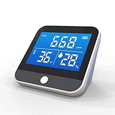 【まん延防止等重点措置対策に!】CO2センサー(二酸化炭素濃度測定器)で換気タイミングを見える化!