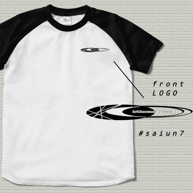 ラグランTシャツ 【saiun7 imageLOGO】