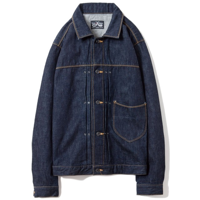 DRESS HIPPY(ドレスヒッピー)/OLDMAN JACKET (DENIM)