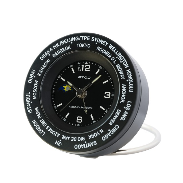 WORLD TIME ALARM【BLACK】