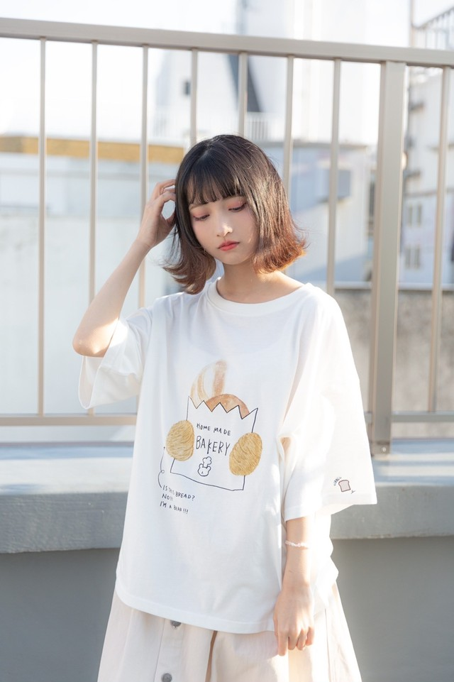 【HOME MADE】ベーカリープリントTシャツ(100012)