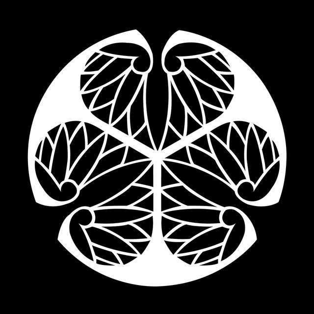 歴史コースター(戦国時代)徳川家康 ー三つ葵ー