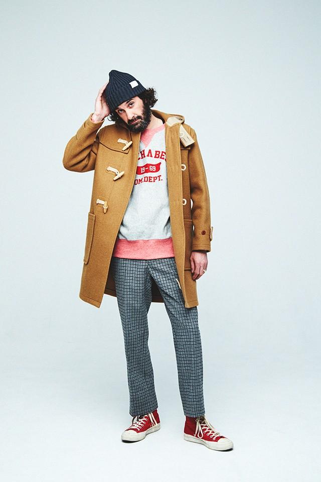 Coat,Men's,NAVY,Attached,Hood(Royal NAVY 1940Model Modified)